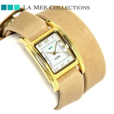 ラメール コレクション レザー レディース 腕時計 LMGBUENI001 LA MER ギフトボックス 時計