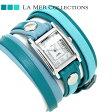 ラメール コレクション レザー レディース 腕時計 LMLWMIX2502 LA MER レイヤー ウォッチ
