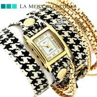 ラメールコレクションレザーレディース腕時計LMMULTI2015LAMERアイスランディック