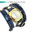 ラメール コレクション レザー レディース 腕時計 LMODYSLY001 LA MER スタッド ラップ
