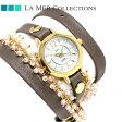 ラメール コレクション レザー レディース 腕時計 MILANACAP3404 LA MER マーティン イラナ カプセル