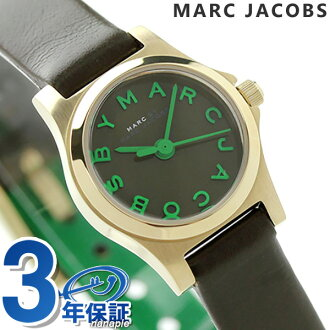 Mark by Mark Jacobs Henry dinky ladies MBM1326 MARC by MARC JACOBS quartz watch dark green leather belt P19Jul15