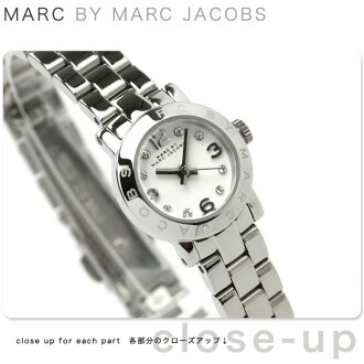 Mark by Mark Jacobs Amy Dinky clock Lady's white MARC by MARC JACOBS MBM3225