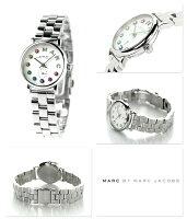 マークバイマークジェイコブスベイカー28MBM3423MARCbyMARCJACOBS腕時計ホワイト