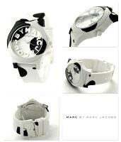 マークバイマークジェイコブススローンレディースMBM4026MARCbyMARCJACOBS腕時計ホワイト×ブラック