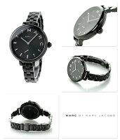 マークバイマークジェイコブスサリー36レディースMJ3455MARCbyMARCJACOBS腕時計オールブラック