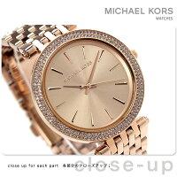 マイケルコースダーシークオーツレディース腕時計MK3192MICHAELKORSローズゴールド
