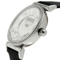 37292dda15 ... サントノーレオペラスモール33mmスイス製レディースSN7520121PARDNSAINTHONORE腕時計ブラック ...