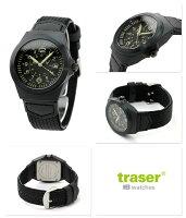 トレーサー腕時計タイプ3パイロットデイト日本限定モデルオールブラックtraserP5900.516.K3.11