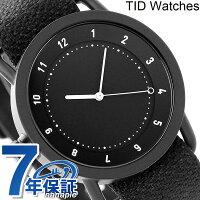 ティッドウォッチズNo.1トウェインベルト40mm腕時計TID01-TWBLACK/COALTIDwatches
