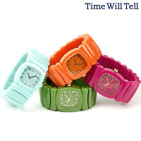 TIMEWILLTELLタイムウイルテルレディース腕時計カラフル