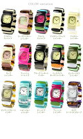 TIMEWILLTELLタイムウイルテルレディース腕時計ストライプ