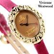 ヴィヴィアン・ウエストウッド 腕時計 レディース ロココ ロージーブラウン×ショッキングピンクレザー Vivienne Westwood VV005SMBY