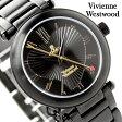 ヴィヴィアン・ウエストウッド 腕時計 レディース オーブ オールブラック Vivienne Westwood VV006BK