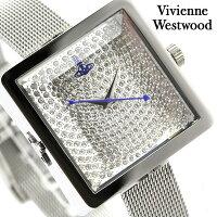 ヴィヴィアン・ウエストウッド腕時計レディースレディーキューブシルバーVivienneWestwoodVV053SLSL
