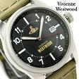ヴィヴィアン・ウエストウッド バトラーズ ワーフ VV079BKGR Vivienne Westwood メンズ 腕時計 クオーツ ブラック×カーキ
