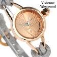 ヴィヴィアン・ウエストウッド 腕時計 レディース ローズゴールド×グレー レザーベルト Vivienne Westwood VV081RSGY