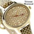 ヴィヴィアン・ウエストウッド ブロンズベリー レディース VV102GDGD Vivienne Westwood 腕時計 クオーツ ゴールド レザーベルト