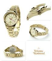 ヴィヴィアン・ウエストウッドホロウェイレディースVV111GDVivienneWestwood腕時計クオーツゴールド