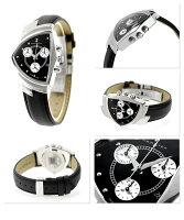 HAMILTONハミルトンVENTURAベンチュラクロノメンズ腕時計H24412732