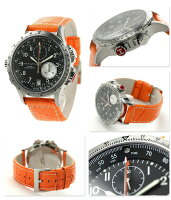 HAMILTONハミルトンKhakiETOカーキE.T.Oレザーメンズ腕時計H77612933