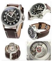 ルミノックス LUMINOX フィールド スポーツ オートマチック 腕時計 レザーベルト ブラック 1801