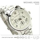 MICHAEL KORS マイケル コース レディース 腕時計 クロノグラフ シルバー メタルベルト MK5076