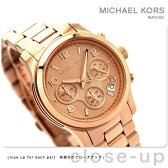 MICHAEL KORS マイケル コース レディース 腕時計 クロノグラフ ローズゴールド メタルベルト MK5128
