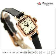 Rosemont ロゼモン 腕時計 ミラネーゼ・ベルリン 1928 アイボリー×ローズゴールド ブラックレザー RS#5-06 BR