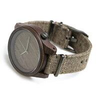 ウィーウッド アルファ 木製 クオーツ 腕時計 9818112 WEWOOD チョコレート【対応】
