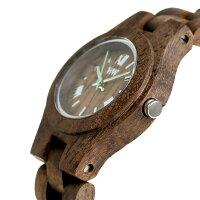 ウィーウッドクリスチョコラフクオーツ木製腕時計9818116WEWOOD