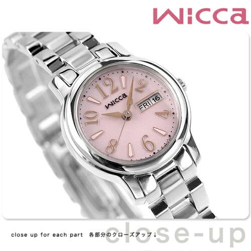 シチズン ウィッカ ソーラー レディース 腕時計 KH3-410-91 CITIZEN wicca デ...