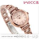 シチズン ウィッカ ソーラー レディース 腕時計 KH9-965-91 CITIZEN wicca ピンクゴールド 時計
