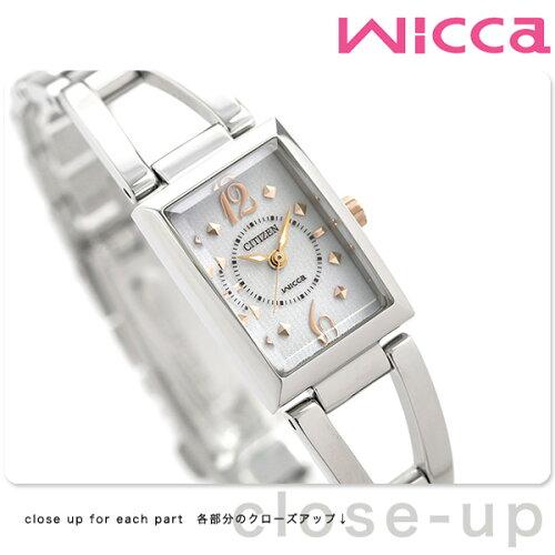シチズン ウィッカ エコドライブ レディース腕時計 CITIZEN wicca NA15-1561B...