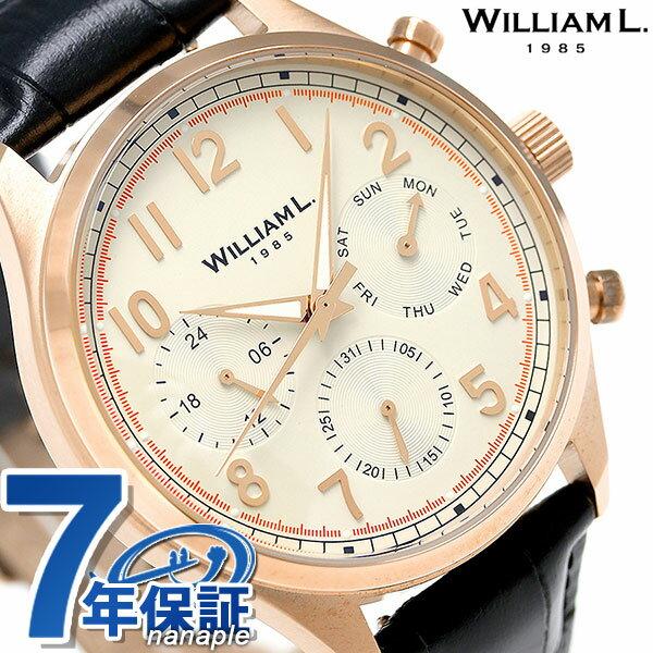 腕時計, メンズ腕時計  WLOR03BCORCN WILLIAM L