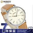 セイコー ワイアード ペアスタイル ソーラー 腕時計 AGAD092 SEIKO WIRED ベージュ