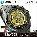 セイコー ワイアード アポロ Xmas 限定モデル クロノグラフ AGAD724 SEIKO WIRED 腕時計 イエロー×ブラック