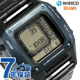 [1,000円割引クーポン!15日00時〜17日9時59分まで] セイコー ワイアード BEAMS デジタルクロノグラフ バーゼル 限定モデル AGAM701 腕時計 時計