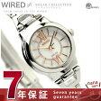 セイコー ワイアード エフ ソーラーコレクション 腕時計 AGED049 SEIKO WIRED f ホワイト×ゴールドコンビ