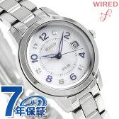 セイコー ワイアード エフ ペアスタイル ソーラー 腕時計 AGED082 SEIKO WIRED f ホワイト【あす楽対応】
