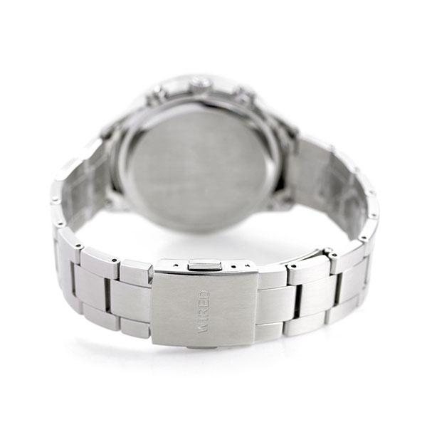 セイコー ワイアード トウキョウ ソラ ソーラー クロノグラフ AGAD094 SEIKO WIRED 腕時計 ネイビー 時計