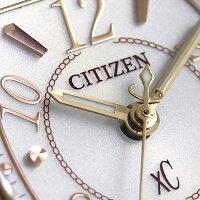 シチズン クロスシー サクラピンク(R) エコドライブ電波時計 チタン ES9354-69A CITIZEN xC レディース 腕時計