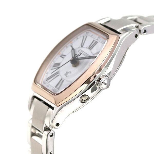 【ポーチ付き♪】シチズン クロスシー エコドライブ 電波時計 サクラピンク(R) レディース 腕時計 CITIZEN xC ES9355-58A 電波 ソーラー チタン 時計