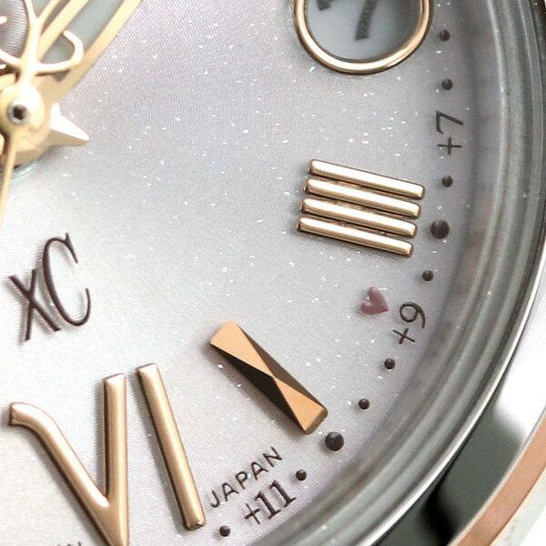 【ポーチ付き♪】シチズン クロスシー CITIZEN xC エコドライブ 電波 時計 レディース 腕時計 ES9434-53W ピンクシルバー【あす楽対応】