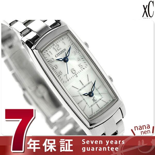シチズン クロスシー ソーラー エコダブルフェイス EW4000-55A CITIZEN xC 腕時計 ホワイト:腕時計のななぷれ