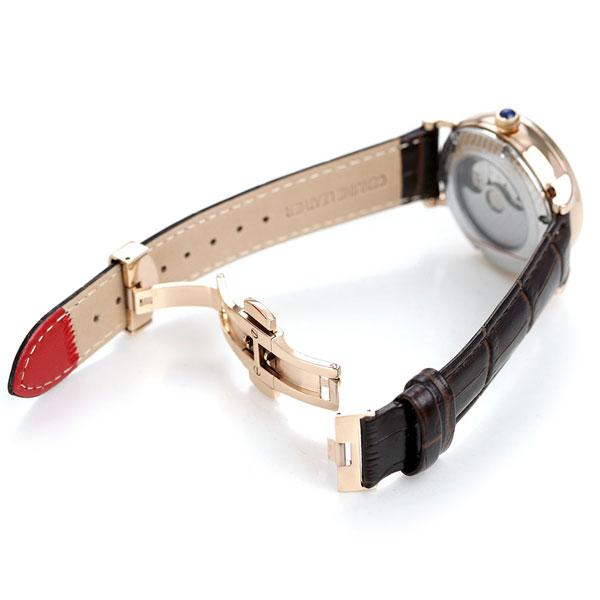 【25日なら全品5倍以上!店内ポイント最大37倍】 ヨンガー&ブレッソン 時計 フランス製 自動巻き メンズ 腕時計 YBH8568-07 Yonger&Bresson ホワイト×ダークブラウン