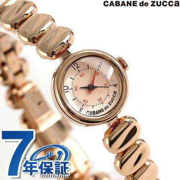 ズッカ コーヒービーンズ クオーツ レディース 腕時計 AJGK074 CABANE de ZUCCa ピンクゴールド 時計【あす楽対応】