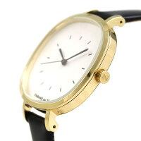 ズッカ バターサブレ 35mm レディース 腕時計 AJGK081 CABANE de ZUCCa シルバー×ブラック