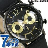 ズッカフクロウルクロノグラフクオーツ腕時計AJGT014CABANEdeZUCCa