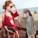 ☆☆☆ 水着 体型カバー 水着 セパレート タンキニ 女の子 3点セット 大きいサイズ ワンピース 水着 サロペット ロンパース オールイン…